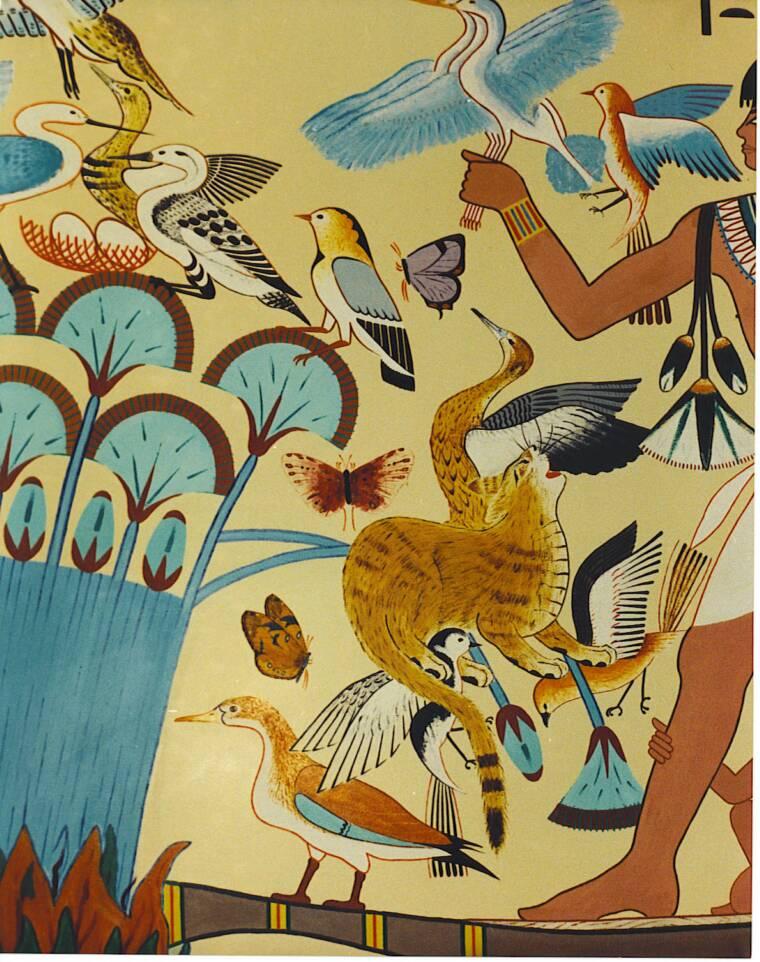 Egyptian wallpaper murals images for Egyptian mural wallpaper