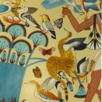Egyptian Mural inspired by the Tomb of Nebamun in Thebes